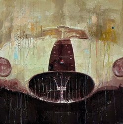 Maserati A6GCS by Markus Haub -  sized 32x32 inches. Available from Whitewall Galleries
